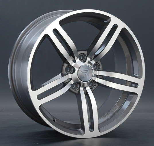Диск колесный REPLAY B58 8xR18 5x120 ET34 ЦО72,6 серый глянцевый с полированной лицевой частью 012361-050046001