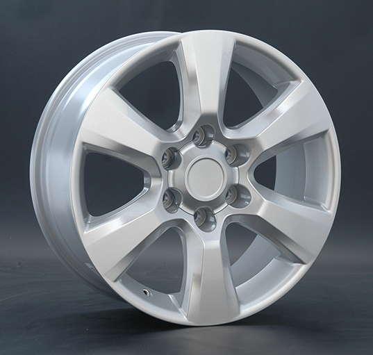 Диск колесный Replay TY68 7,5xR18 6x139,7 ET25 ЦО106,1 серебристый 013044-040697007