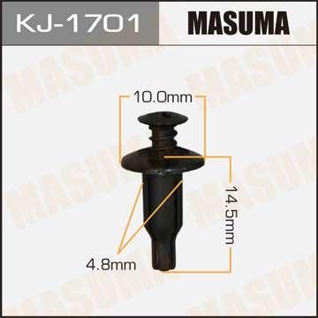 Клипса автомобильная (автокрепеж), 1 шт., Masuma KJ-1701