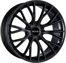 Диск колесный MAK Munchen 8,5xR20 5x120 ET25 ЦО72,6 черный матовый F8520MUMB25I2B