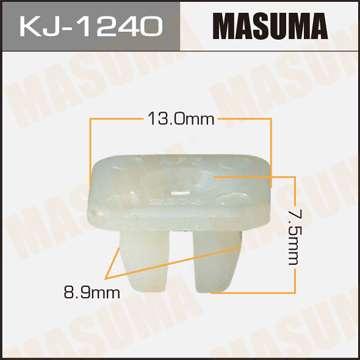 Клипса автомобильная (автокрепеж), уп. 50 шт. Masuma KJ-1240