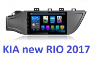 Штатная магнитола HORNA на OC Android для KIA Rio 2017- / KIA Rio X-Line 2017-