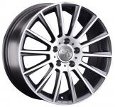 Диск колесный Replay B202 7.5xR18 5x112 ET25 ЦО66.6 серый глянцевый с полированной лицевой частью 081200-040023005