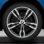 Диск колесный R17 BMW Double spoke 385 36116856064 сильвер BMW X1 (F48) 2015-