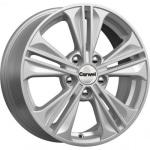 Диск колесный Carwel Исток 106 6xR16 5x114.3 ET43 ЦО67.1 серебристый металлик 101750