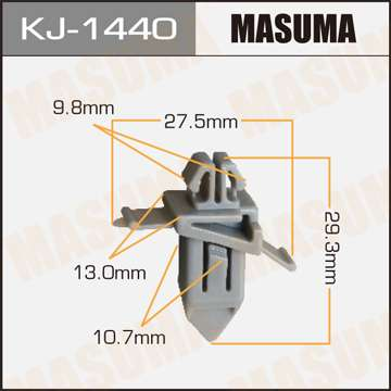 Клипса автомобильная (автокрепеж), 1 шт., Masuma KJ-1440