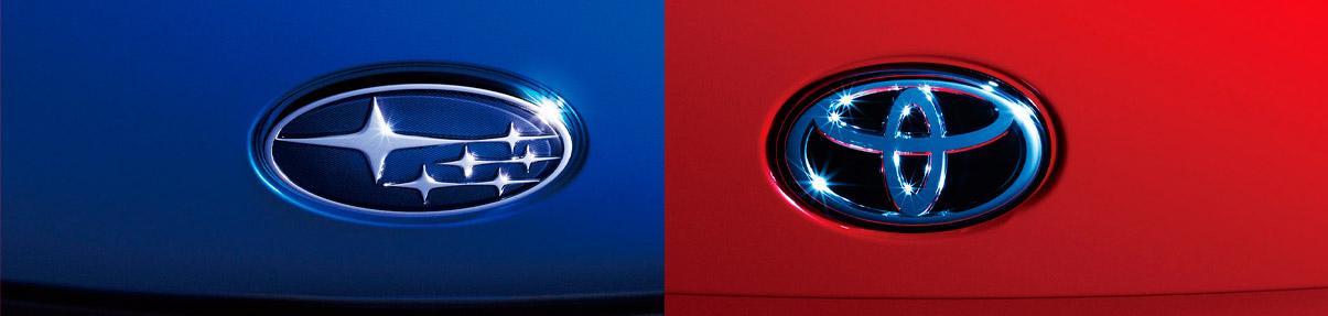 Совместная премьера от Toyota и Subaru