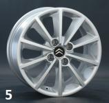 Колесный диск литой REPLICA/REPLAY  для Citroen C4 Седан 2013 - 2016