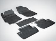 Коврики салона резиновые с высоким бортиком Seintex 82004 для Mitsubishi Lancer 2007 -