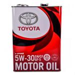 Масло моторное синтетическое (5W30, 4 л.) Toyota 08880-10705