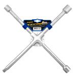 Ключ баллонный крестовой усиленный, хром Golden Snail GS 8212