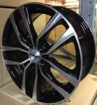 Диск колесный Carwel Негито 214 6xR16 5x112 ET48 ЦО57.1 черный с полированной лицевой частью 98505