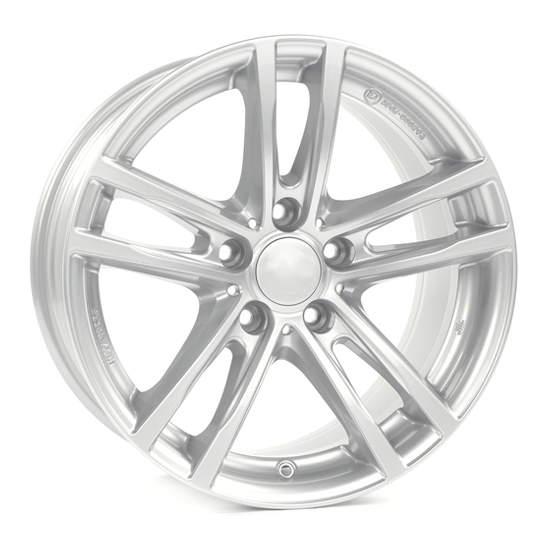 Диск колесный Rial X10 7,5xR18 5x112 ET51 ЦО66,5 серебристый X10-75851W61-0