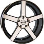 Диск колесный NEO V03-1770 7xR17 4x100 ET40 ЦО60,1 чёрный с полированной лицевой частью rd832756