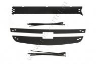 Зимняя заглушка решетки радиатора и переднего бампера Русская Артель Chevrolet Niva Bertone 2009-