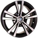 Диск колесный Venti 1704 7xR17 5x114,3 ET45 ЦО60,1 чёрный с полированной лицевой частью rd832179