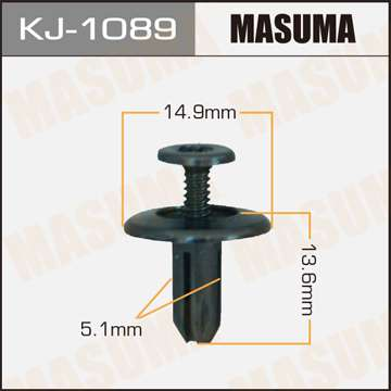 Клипса автомобильная (автокрепеж), уп. 50 шт. Masuma KJ-1089