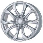 Диск колесный Alutec W10X 9xR20 5x120 ET43 ЦО72,6 серебристый W10-902043R21-0