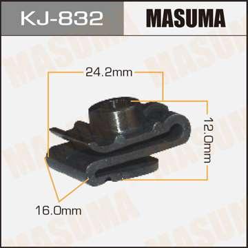 Клипса автомобильная (автокрепеж), 1 шт., Masuma KJ-832