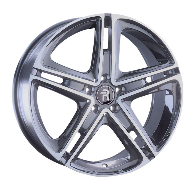 Диск колесный REPLAY MR209 8xR19 5x112 ET38 ЦО66,6 серебристый с полированной лицевой частью 045734-160060006