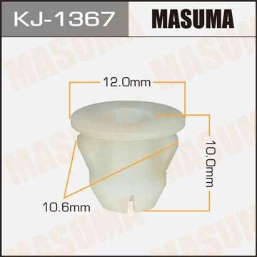 Клипса автомобильная (автокрепеж), 1 шт. Masuma KJ-1367
