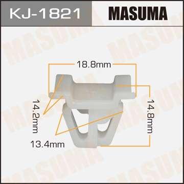 Клипса автомобильная (автокрепеж), уп. 50 шт. Masuma KJ-1821