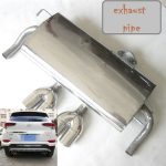 GAGM10233: Выхлопная система, двойная Lu Chao для Hyundai Tucson (2015- по н.в. ) Lu Chao