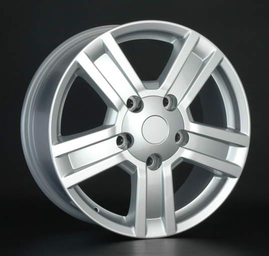 Диск колесный REPLAY LX38 8,5xR20 5x150 ET58 ЦО110,1 серебристый 036006-040662009