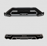 Модифицированный передний и задний бамперы для Toyota RAV4 (Тойота РАВ4) 2019 -