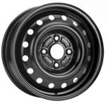 Диск колесный KFZ 8350 5,5x15 4x114,3 ET50 ЦО64 черный 902096001