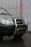 Решетка передняя, мини 60 мм (возможна установка нижней защиты) Souz-96 CN09.55.0846 Chevrolet Niva 2009-