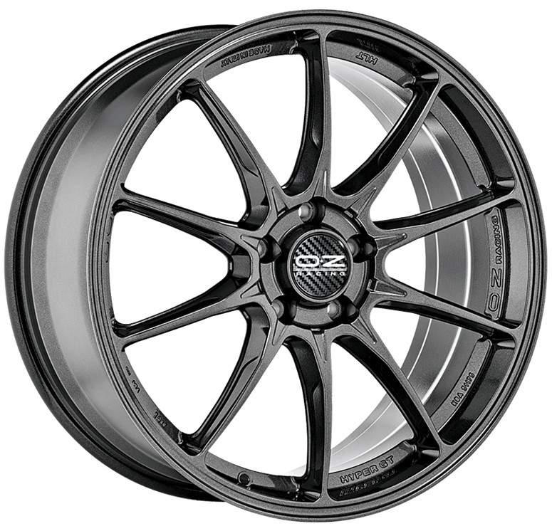 Диск колесный OZ Hyper GT HLT 8xR18 5x110 ET29 ЦО65,1 серый темный глянцевый W01A20001T6
