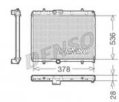 Радиатор охлаждения двигателя NIPPON DENSO   DRM21057  для Citroen C4 Седан 2013 - 2016