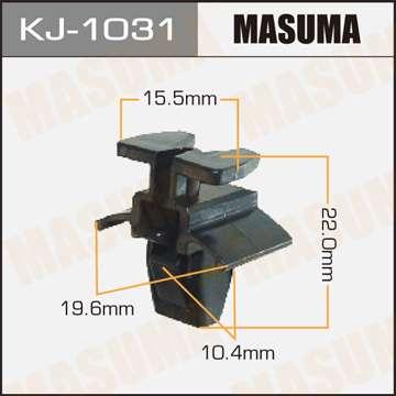 Клипса автомобильная (автокрепеж), 1 шт., Masuma KJ-1031