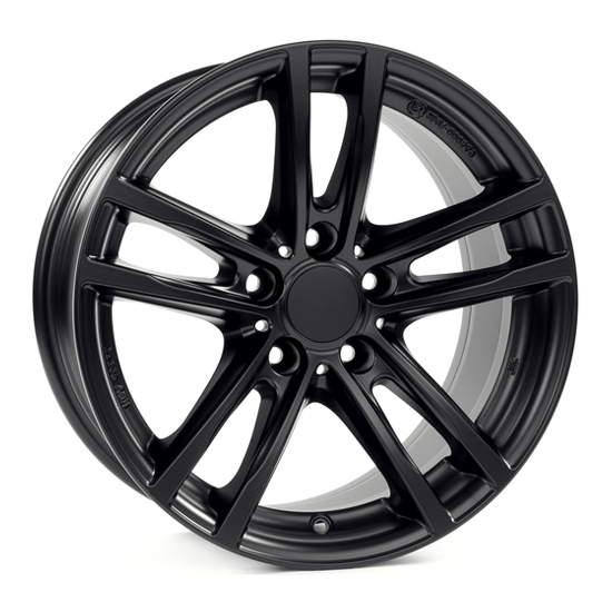Диск колесный Rial X10 7,5xR18 5x112 ET25 ЦО66,5 черный матовый X10-75825W64-5
