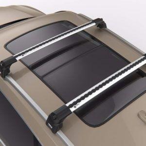 Поперечины (багажник) на крышу Turtle (CAN Otomotive) TLUXAIR2.106SILVER (серебро)