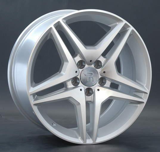 Диск колесный REPLAY MR96 8,5xR18 5x112 ET43 ЦО66,6 серебристый с полированной лицевой частью 014628-040060006