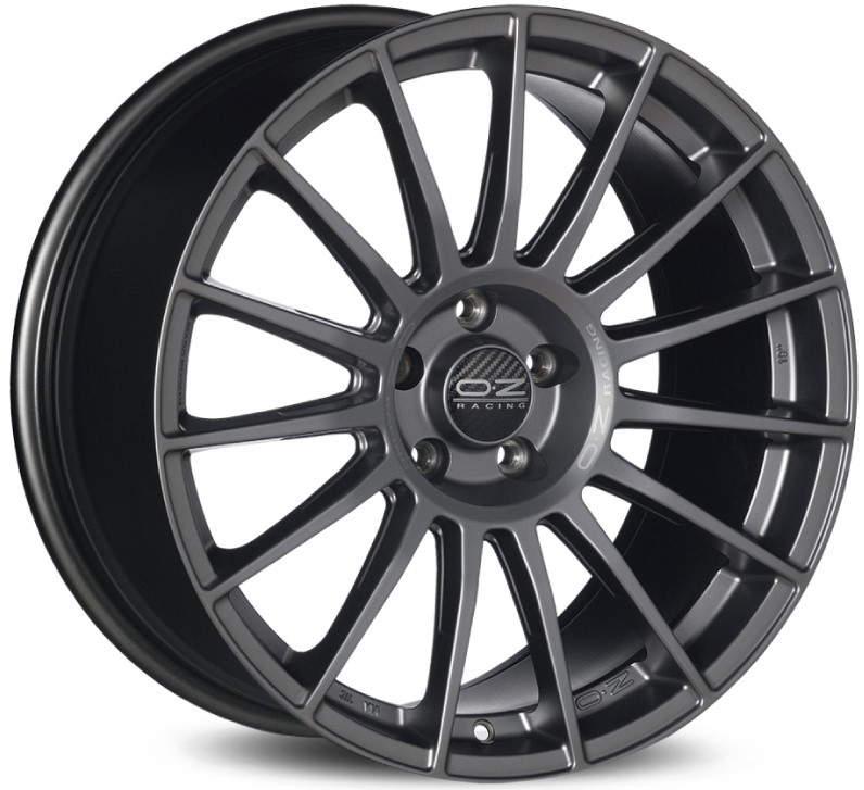 Диск колесный OZ Superturismo LM 8xR18 5x112 ET45 ЦО66,7 серый темный матовый W0185400646