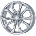 Диск колесный Alutec W10X 8xR18 5x112 ET25 ЦО66.5 серебристый W10X-80825PO11-0
