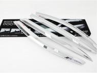 Дефлекторы окон хромированные Autoclover KIA K5 2020 -