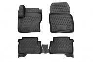 Коврики 3D в салон (черный полиуретан) Format FORMAT.CARFRD00009k Ford Kuga 2013-
