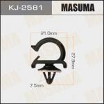 Клипса автомобильная (автокрепеж), уп. 50 шт. Masuma KJ-2581
