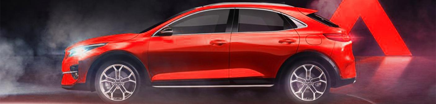 Новый купе-кроссовер KIA XCeed