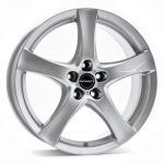 Диск колесный Borbet F 6.5xR16 5x100 ET45 ЦО57.06 серебристый 8135745
