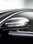 Накладки на боковые зеркала (левая/правая, хром) Jaguar C2D5489 / C2D5488 для Jaguar XE 2015 -