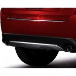 Накладка на низ бампера (серебро) Mazda для Mazda CX-5 2017 -
