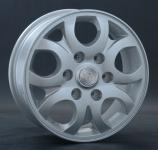 Диск колесный Tech-Line 626 6.5xR16 5x100 ЕТ38 ЦО67.1 серебристый T626-6516-671-5x100-38S