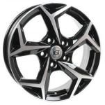 Диск колесный RST R066 6.5xR16 5x114.3 ET38 ЦО67.1 черный с полированной лицевой частью rd833523