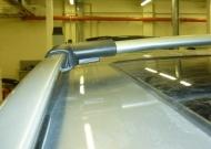 Багажные поперечины для штатных рейлингов (серебр.) CAN Otomotiv MIPA.75.9037 для Mitsubishi Pajero IV 2006-