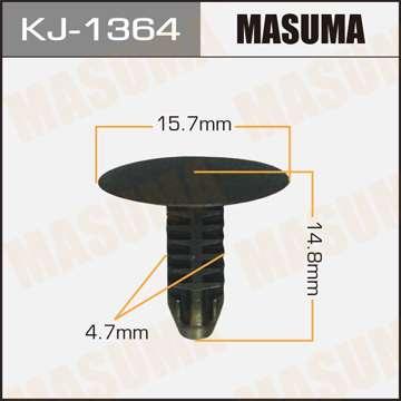 Клипса автомобильная (автокрепеж), 1 шт., Masuma KJ-1364